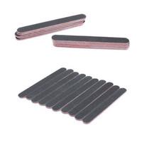 Wholesale Shellac Uv - 1PCS Sanding Nail File Black Nail Art Styling Tools Buffer For Salon Manicure UV Gel Polisher Nail Files Polish Tool Cnd Shellac