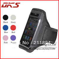 Wholesale Iphone 3g Sport Case - Wholesale-Free Shipping Running Jogging Sport Armband Case For iPhone 3G 3GS