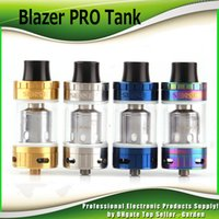 Wholesale E Cigarette Tanks Wholesale - Original Sense Blazer Pro Tank 6ml 7ml Top filling Atomizer E cigarette vaporizer with Blazer 200 Tank Coil 0.2ohm 100% Authentic DHL Free