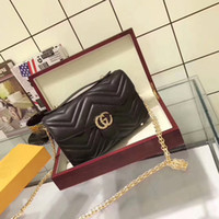 Wholesale Purses Brand Names - Famous Women Dionysos Handbags Brand Name G Women Genuine Leather Shoulder Bags Pearl totes BD#G2 purse Gold chain bags Wallets