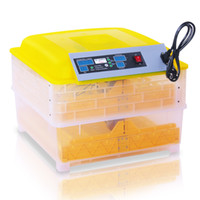 Wholesale Digital Panel Thermometer - Automatic DIGITAL 96 Eggs Incubator Poultry Hatcher 4 LED PANELS THERMOMETER for Chicken Turkey Quail Goose Duck