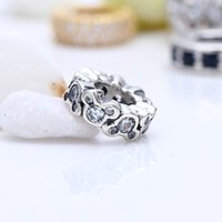 Wholesale pandora mickey resale online - New Real Sterling Silver Not Plated Mickey CZ Spacer Charms European Charms Beads Fit Pandora Bracelet Clip DIY Jewelry