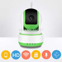 Wholesale Wireless Vedio Camera - Wireless full 720P Smart Camera Network IP Security Camera HD Mini IR WiFi VEDIO PTZ alarm CCTV P2P Support Android IOS easy use