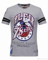Wholesale T Shirt For Slim Male - Basketball ALL STAR T-shirts for Men Bee & Diamonds 78ERS 3D Printed ORIGINALS Short Sleeve Male Outdoor Tank Tops Tee Shirt 18220