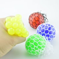 Wholesale Geek Gadgets - Funny Toys Antistress Face Reliever Grape Ball Autism Mood Squeeze Relief Healthy Toys Funny Geek Gadget for Halloween Jokes