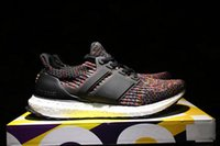 Wholesale Colorful Soccer - Wholesale Cheap 3.0 Ultra Boost 2017 Boost Colorful Athletic Shoes Mens Women Sports Running Shoes Sneaker Shoes Size 5-11 Free Shipping