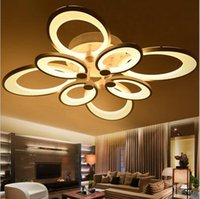 Wholesale butterfly remotes - dimmable led ceiling lights butterfly chandeliers flush mount ceiling lights 3 6 8 heads light ceiling led kitchen lighting fixture