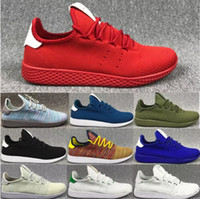 Wholesale Tubular Cut - 2017 Pharrell Williams x Stan Smith Tennis HU Primeknit men women Running Shoes Sneaker Tubular Shadow Boost Runner sports Shoes EUR 5-11