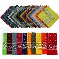 Wholesale cotton knit scarves - 20000pcs Paisley design stylish magic ride magic anti-UV bandana headband scarf hip-hop multifunctional bandana Outdoor Head scarf Free DHL