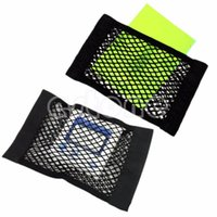 square wire netting - Car Back Rear Trunk Seat Elastic String Net Mesh Storage Bag Pocket Cage