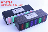 Wholesale Retro Phone Speaker - 2016 New Products Factory Bottom Price Retro Mini Wood Bluetooth Speaker with Colorful Led Light For Laptop Tablet Iphone Samsung Smartphone