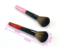 Wholesale Makeup Powder For Black Woman - Fashion Pro Blush Powder Face Foundation Eyeliner Eyebrow Makeup Brushes Set Tools for Women Lady