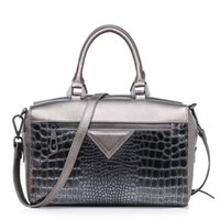 Wholesale Cross Body Totes For Women - high end top layer leather handbag boston tote bag pythons patten cowhide cross-body bags for office lady CH800053