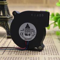 Wholesale 12 Cm Fan - Wholesale- Free Delivery.5 cm 5015 small blower BUB0512HB 12 v 0.24 A 3 line