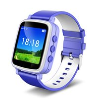 Montre GPS Tracker 2016 pour les enfants Montre GPS Safe Q80 Q60 Montre-bracelet intelligent SOS Call Finder Locator Tracker Monitor GSM 1.44 écran