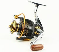 Wholesale Smooth Drive - BQ1000-7000 All Metal Fishing Reels Ocean Rod Lure Spinning Reel Super Strong Drive Smooth Al Alloy