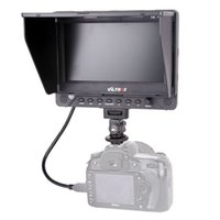 Wholesale video camera hdmi - 7'' Viltrox DC-70EX HD Clip-on HDMI SDI AV Input Output Camera Video LCD Monitor Display for Canon Nikon Pentax Olympus DSLR