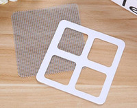Wholesale Windows Mosquito Nets - Hot Sheer Curtains Summer Window Mosquito Netting Patch Repairing Broken Holes on Screen Window Door Anti-mosquito Mesh Sticky Wires Patches