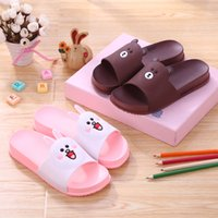 Wholesale Boys Home Slippers - XB05 color 1-9 Children's slippers 2017 new summer boys and girls indoor home, Beach Outdoor cartoon cool drag wholesale