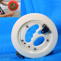 Wholesale Abs Reel - Super Hard ABS 25CM Fishing Reel for Big Fish Grip Hand Wheel with Bearing Balls Fishing Tackles and Accessories