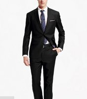 Wholesale Most Skinny - The most formal men business suits two-piece elegant fashion groom suit lapel single-breasted suit formal occasions suit