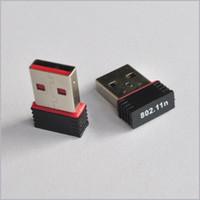 Wholesale Nano M USB Wifi Wireless Adapter Mbps IEEE n g b Mini Antena Adaptors Chipset MTK7601 Network Card MQ100