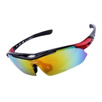 Wholesale Cycling Glasses Myopia - Polarized Cycling Glasses Riding Mountain Bike Outdoor Sports Sunglasses 5 Lens Myopia Box Windproof Bicycle Cycling glasses