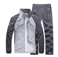 Wholesale 5xl Zip Hoodie - outdoor tracksuit men jackets mens hoodies and sweatshirts mens sports suits tracksuits sportswear man plus size 5xl jogger sets