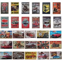 Wholesale American Car Classics - looking for the trip car tin poster sign Bar hot Cafe deco poster 8x12 inch (20x30cm)