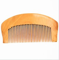Wholesale round curly hair for sale - Group buy Small wooden comb anti static portable health care cosmetic cmb comb health month
