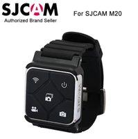 sjcam marke großhandel-2016 neue Ankunft Original SJCAM Marke Zubehör Fernbedienung WiFi Uhr für M20 Sport Kamera SJCAM Handgelenk Band Fernbedienung Uhr