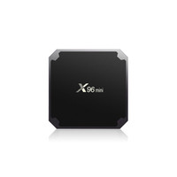 ingrosso tv box h.265 2gb 16gb-X96 mini Android 7.1 TV BOX 2GB16GB 1GB8GB Amlogic S905W Quad Core Suppot H.265 4K 30tps 2.4GHz WiFi Media Player