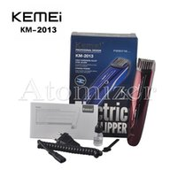 vente de rasoirs électriques achat en gros de-KEMEI KM-2013 électrique rechargeable cheveux rasoir Razor Beard Hair Grooming Trimmer Clipper Hair Clipper Trimmer EU Plug Hot Sales 0604062