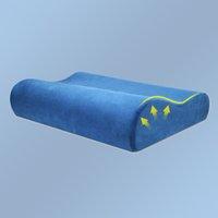 almohada de látex para el cuello al por mayor-Slow Rebound Promotion Cuidado de la almohada de espuma de memoria Ortopédica Latex Neck Pillow Fiber Slow Rebound Cervical Health Care Nuevas llegadas