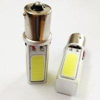 Wholesale Led Brake Light Assembly - High Power COB Car Brake Light 1156 Tail Bulb 20W LED BA15S S25 P21W Lamp Pure White DC12V
