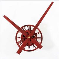 Wholesale clock pointer - Clock Mechanism Wall Clock Mechanism Large Acrylic Rust Texture Pointer Creative Kit Movement When Sand Watch Accessories