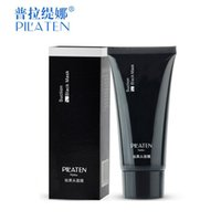 Wholesale Eye Purified - PILATEN Tearing style Deep Cleansing purifying peel off the treatment black mud of black heads remover 60g