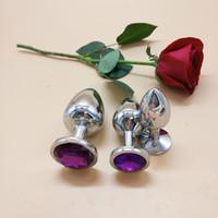 sex toys rosebud achat en gros de-3 tailles en acier inoxydable attrayant Butt Plug Rosebud Anal plugs bijoux jouets sexuels pour couple buttplug sûr et non toxique
