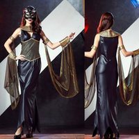 Wholesale Sexy Goddess Nightclub - Halloween is mysterious Greek goddess queen dress European palace restoring ancient ways l nightclubs and sexy