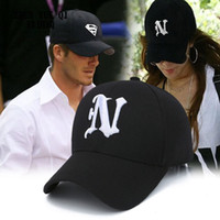 Wholesale Police Ball Caps - Mens Baseball Caps Brand Police Cap with N Letter Suede Baseball Caps Women Snapback Adjustable for Adult