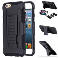 Wholesale g cases online – custom For iPhone plus s plus Shockproof Rugged Impact Holster Robot Cases Cover with Belt Clip Galaxy S7 S6 edge G530 G360 LG GS LS770