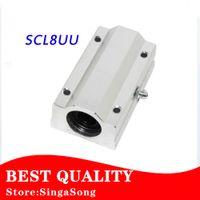 Wholesale Linear Bearing Pillow - Wholesale- Free shipping 4pcs lot SC8LUU SCS8LUU 8mm Linear Ball Bearing Block CNC Router pillow for XYZ