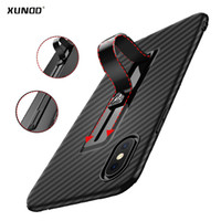 Wholesale Hid Shell - Xundd Luxury case for iphone X   8 8 plus with hidden ring holder case slim soft back case for iphone 7 7plus shell