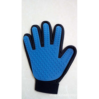 Wholesale Hot selling pet gloves massage bath brush opaque silicone glove cats and dogs a bath brush wear resisting