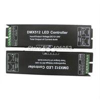 dmx512 decoder dmx led kontrolör toptan satış-3CH 4CH DC 12-24 V RGB RGBW DMX 512 Dekoder led kontrol, RGB LED DMX512 dekoder 4 Kanal * 4A, Ücretsiz kargo