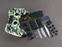 For PS4 Camouflage Replacement Case Shell For PlayStation 4 for ps4 Controller Camo shell With Buttons