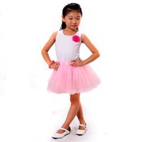 Wholesale Costume Dance Kids Christmas - Infant Baby Girls Tutu Skirt Fashion Kid Children Summer Princess Chiffon Pettiskirts For Ballet Dance Party Costume 9 Colors