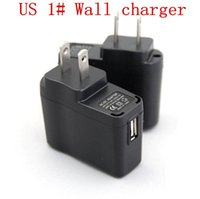 Wholesale E Cigarettes Supplies - Wholesale Wall Charger EU US wall plug USB AC Power Supply High Quality electronic cigarette Wall Adapter E Cigarettes ego 510 battery mods