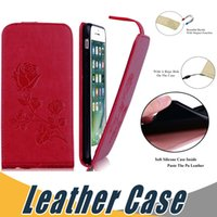 Wholesale Purple Soft Leather Wallet - Wallet PU Leather Case Cover soft TPU Inside with Card Slot For iPhone 5s 6s 6 Plus 7 Plus Samsung S7 Edge S8 Plus