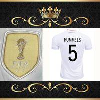 Wholesale Germany Wear - 2017 Germany OZIL MULLER GOTZE HUMMELS KROOS BOATENG REUS Soccer Wear jerseys thai quality soccer jersey football shirts